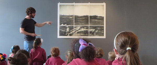 The Linenhall Arts Centre is offering an artist residency for up to two collaborating artists working in the area of arts provision for children.
